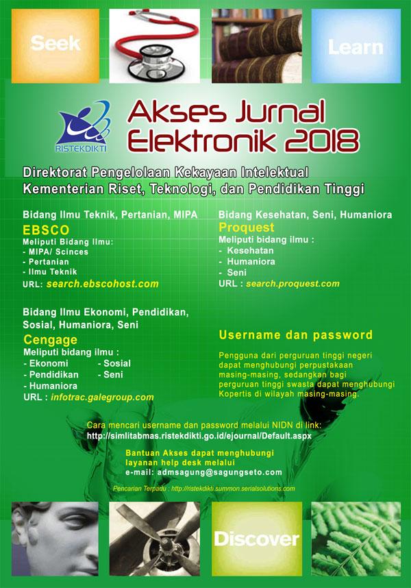 Akses Jurnal Elektronik 2018